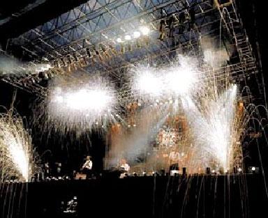 концертные фейерверки